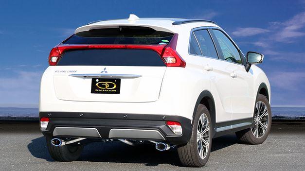 ガナドール エクリプス クロス DBA-GK1W マフラー GVE-038BL GANADOR Vertex 4WD SUV バーテックス 4WD SUV 配送先条件有り