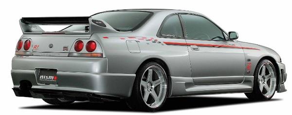 ニスモ スカイライン GT-R BCNR33 2ドア リアバンパー バンパーアッセンブリータイプ 85050-RS595 NISMO 配送先条件有り