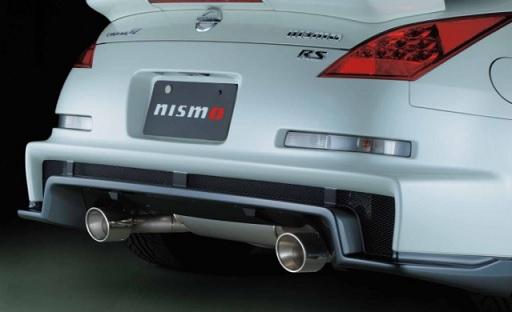ニスモ フェアレディZ Z33 バージョンNISMO(Type380RS含む) スポーツチタンマフラー 20000-RSZ31 NISMO 配送先条件有り
