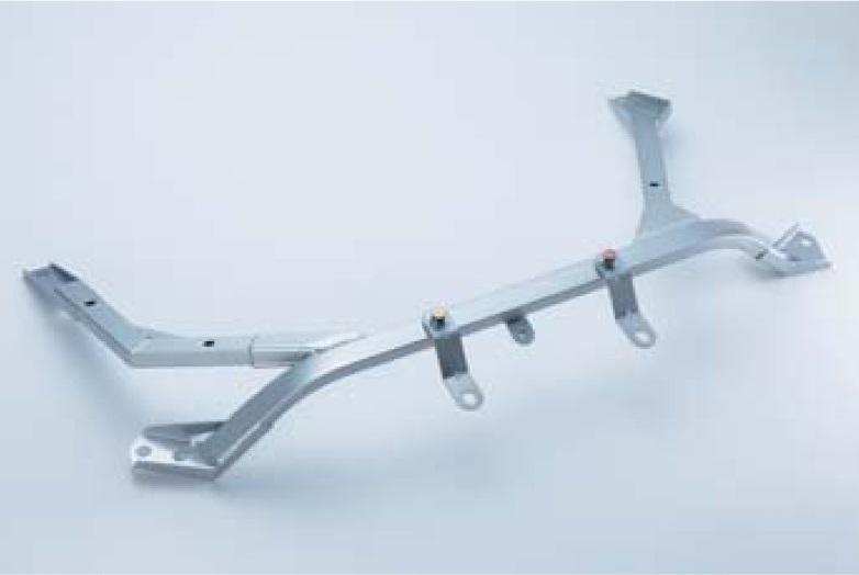 ニスモ スカイラインGT-R BCNR33 オーテックバージョンを除く アンダーフロア補強バー フロント 54422-RSR36 NISMO 配送先条件有り