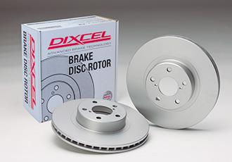 ディクセル 86 ハチロク ZN6 17/09~ GT option Brembo ブレーキローター PDタイプ リア用 3657044S DIXCEL 個人宅発送追金有
