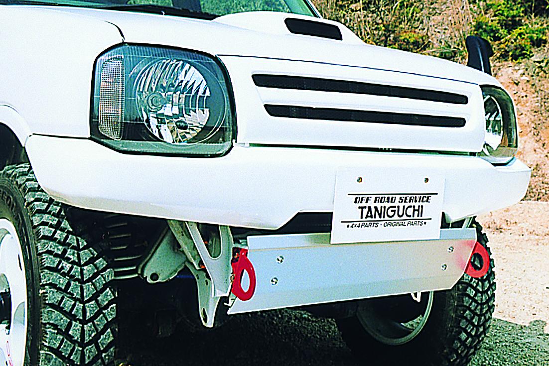 オフロードサービス タニグチ ジムニー JB23 FRP フロントバンパー フォグランプなしタイプ 未塗装 OFF ROAD SERVICE TANIGUCHI