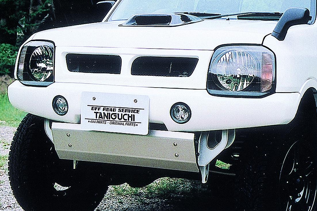 オフロードサービス タニグチ ジムニー JB23 FRP フロントバンパー 純正フォグランプ対応タイプ 未塗装 OFF ROAD SERVICE TANIGUCHI