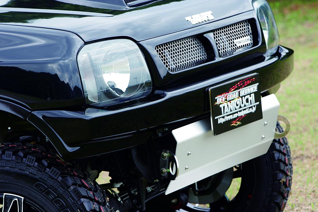 オフロードサービス タニグチ ジムニー JB23 FRP スタイリッシュバンパー フロント 未塗装 OFF ROAD SERVICE TANIGUCHI
