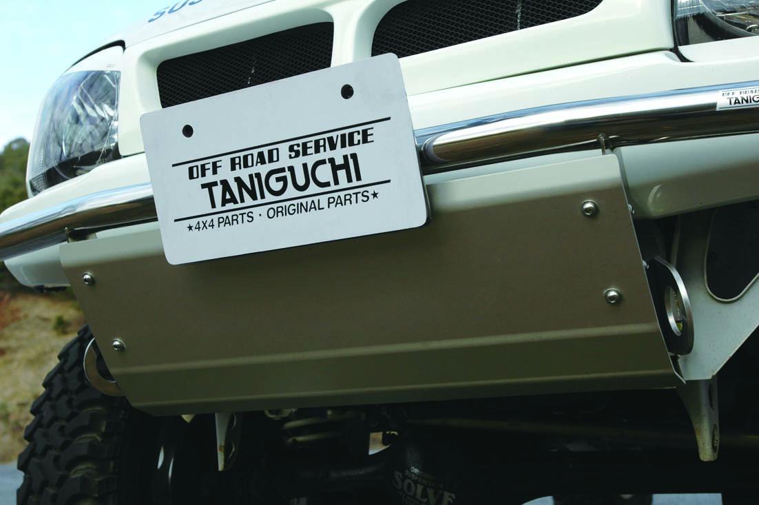 オフロードサービス タニグチ ジムニー JB23 スキッドプレート オフロードバンパー用 OFF ROAD SERVICE TANIGUCHI