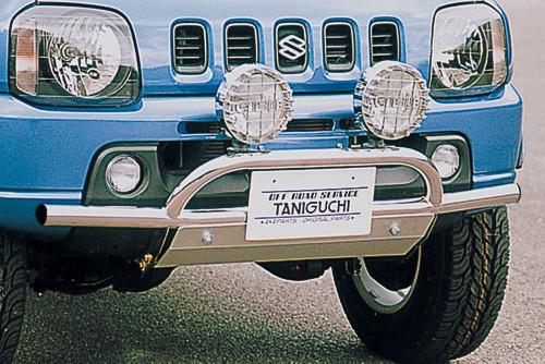 オフロードサービス タニグチ ジムニー JB23 フロントバンパーランプステー専用 スキッドプレート OFF ROAD SERVICE TANIGUCHI