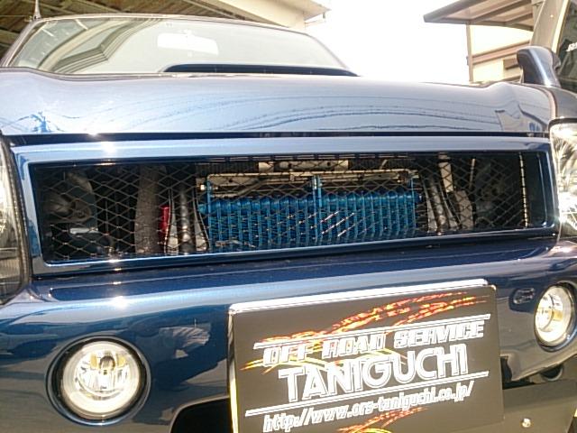 オフロードサービス タニグチ ジムニー JB23 FRP フロントグリル タイプS 4型以降用 未塗装 OFF ROAD SERVICE TANIGUCHI
