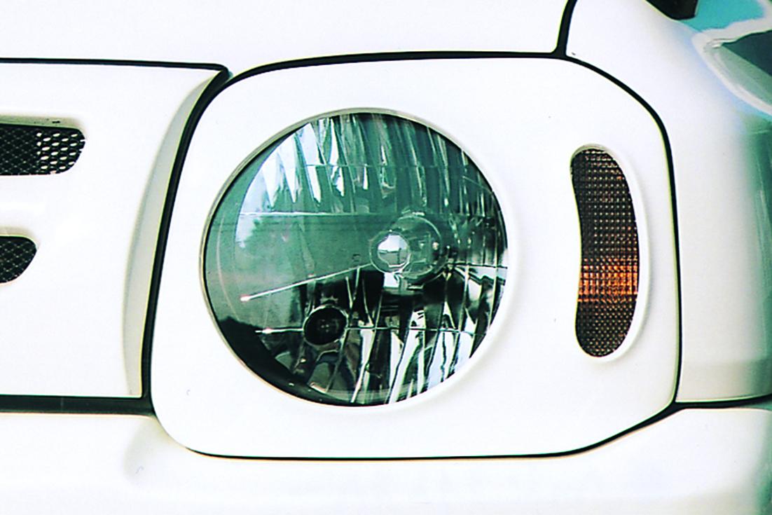 オフロードサービス タニグチ ジムニー JB23 33 43 FRP ヘッドライトカバー 未塗装 OFF ROAD SERVICE TANIGUCHI