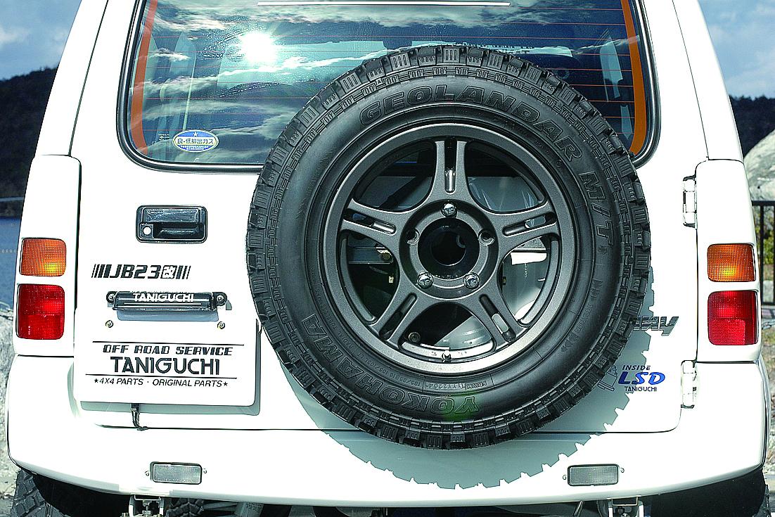 オフロードサービス タニグチ ジムニー JB23 33 43 スペアタイヤ移動キット 表向き用 OFF ROAD SERVICE TANIGUCHI