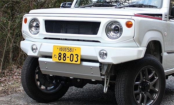 オフロードサービス タニグチ ジムニー JB64 スキッドプレート シルバー OFF ROAD SERVICE TANIGUCHI