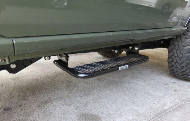オフロードサービス タニグチ ジムニー JB64 2段調整 サイドステップ 片側 スチール 黒塗装品 OFF ROAD SERVICE TANIGUCHI