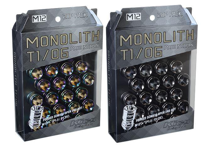 協永産業 T1/06 M12×P1.5 20個入り 貫通ナット Neochro ネオクロ MN01N KYO-EI Kics MONOLITH キックス モノリス