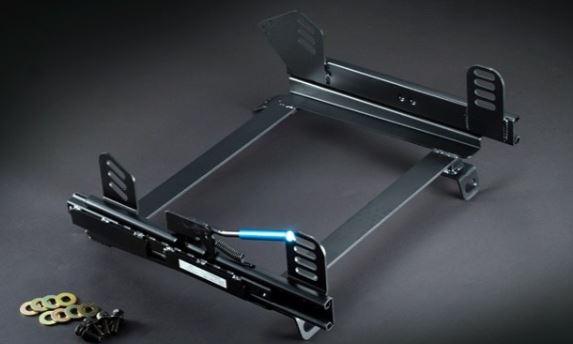 シュピーゲル 2シーター用 スーパーダウンシートレール コペン L880K フルバケ用 サーキット走行 運転席用 連結タイプ シングルロック KRDWSP-D015RD Spiegel