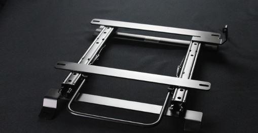 シュピーゲル フルバケットシート用 シートレール ゼスト JE1 フルバケ用 サーキット走行 助手席用 連結タイプ ダブルロック KRRSPG-H080L-1 Spiegel
