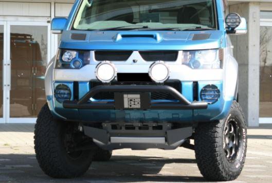 ロードハウス KADDIS デリカD:5 D5 4WD標準バンパー車用 前期 トレイルバー KD-EX01025 ROADHOUSE カディス