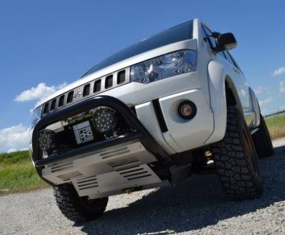 ロードハウス KADDIS デリカD:5 D5 4WD標準バンパー車用 前期 ランプステー フジヤマ2 KD-EX01022 ROADHOUSE カディス 個人宅発送追金有