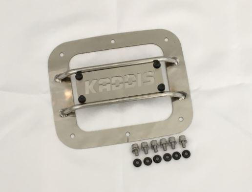 ロードハウス KADDIS デリカD:5 D5 前期 フュエルリッドプロテクター ステンレス KADDIS KD-EX01052 ROADHOUSE カディス