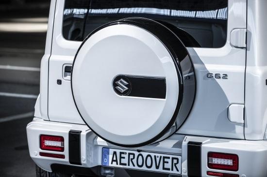 K-FACTORY AERO OVER ジムニー JB64W G62 スペアタイヤカバー FRP 未塗装 エアロオーバー ケーファクトリー 配送先条件有り