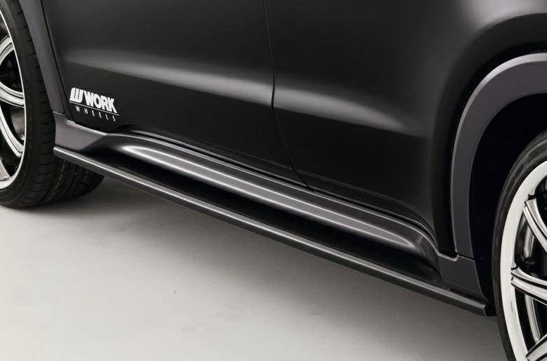 トップライン ヴェゼル RU1~2(ガソリン車)/RU3~4(ハイブリッド車) サイドステップ 塗装済 TOP LINE
