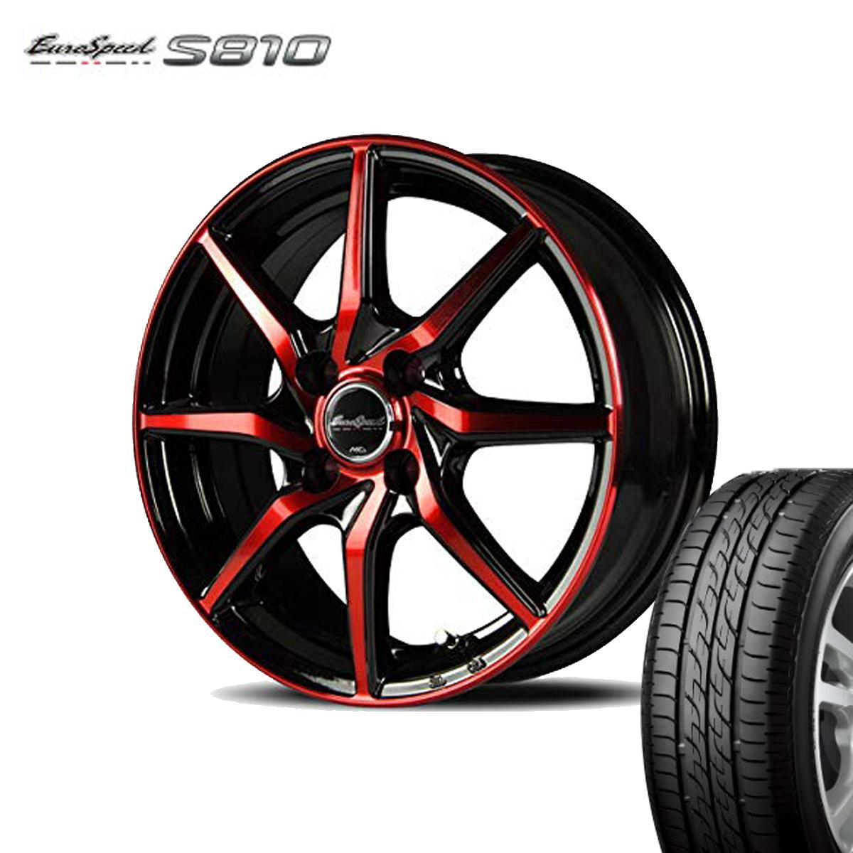 Euro Speed タイヤ ホイール セット 1本 17インチ 5H114.3 7.0J+38 ユーロスピード S810 マナレイ スポーツ 特選輸入タイヤ 225/60R17 225 60 17