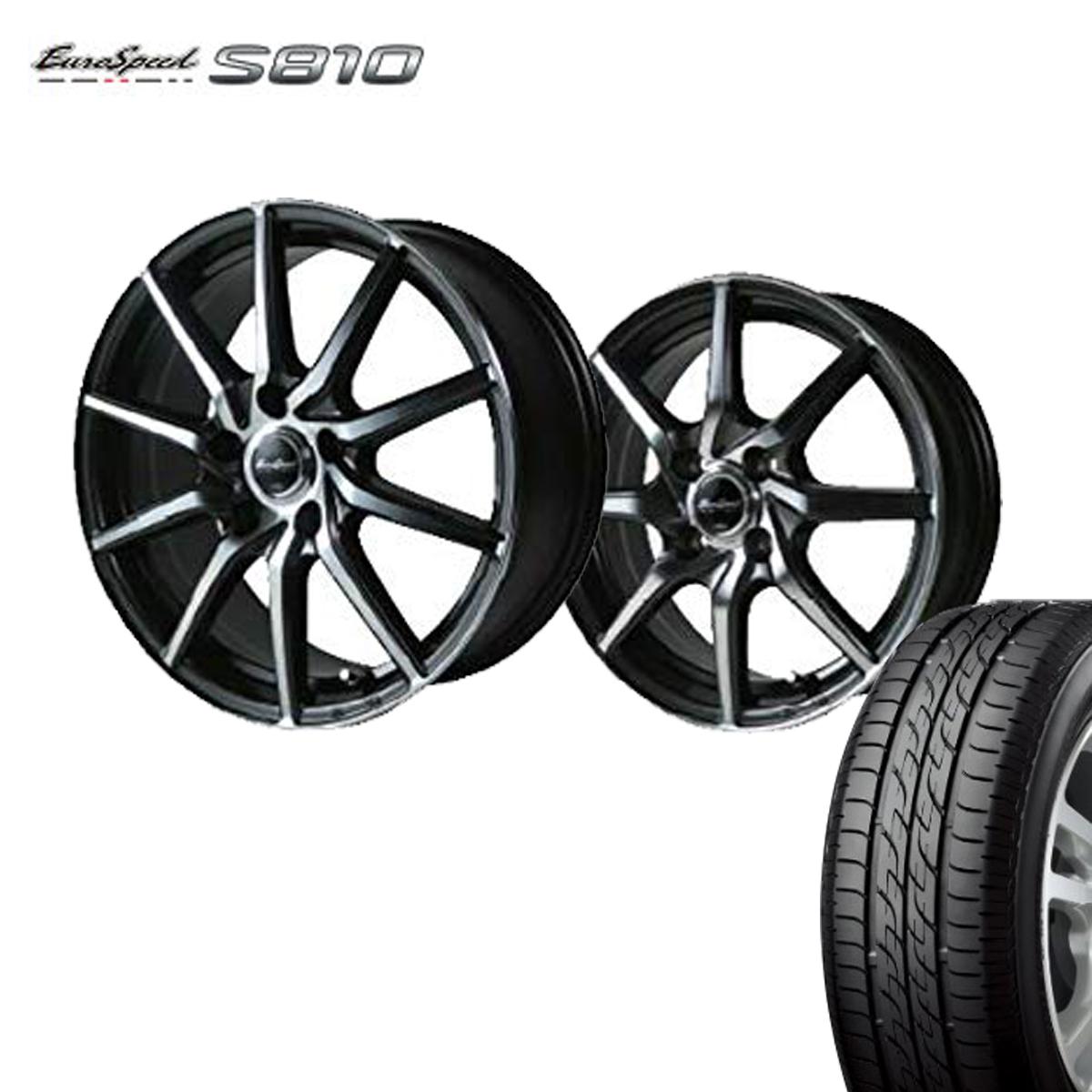 Euro Speed タイヤ ホイール セット 4本 17インチ 5H114.3 7.0J+48 ユーロスピード S810 マナレイ スポーツ 特選輸入タイヤ 215/50R17 215 50 17