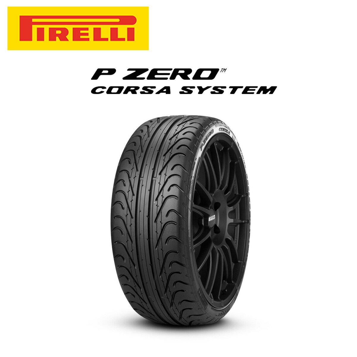 ピレリ PIRELLI P ZERO CORSA SUMMER Pゼロコルサ 19インチ サマー タイヤ 右用 4本 セット 285/35ZR19 99Y ロープロファイルタイヤシリーズ 1975500