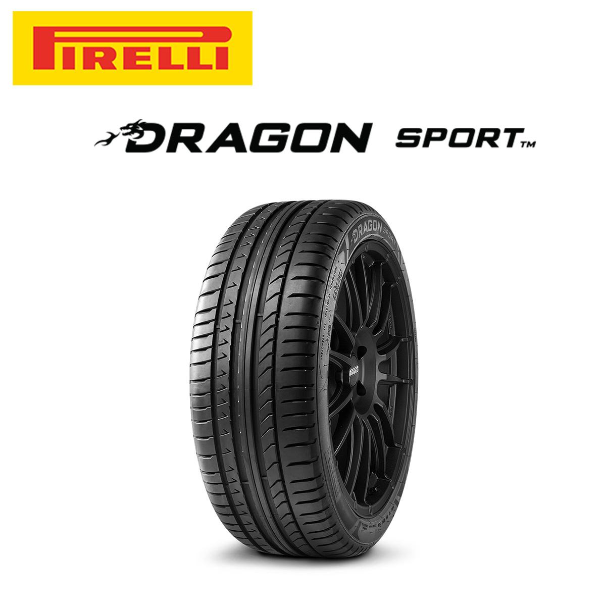 ピレリ PIRELLI DRAGON SPORT ドラゴンスポーツ 18インチ サマー タイヤ 1本 245/45R18 100Y XL EXTRA LOAD規格 ロープロファイルタイヤシリーズ 2645800