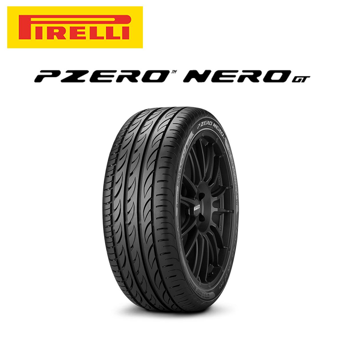 ピレリ PIRELLI P ZERO NERO GT ピーゼロネロ ジーティ 18インチ サマー タイヤ 4本 セット 225/40ZR18 92Y XL EXTRA LOAD規格 ロープロファイルタイヤシリーズ 2596400