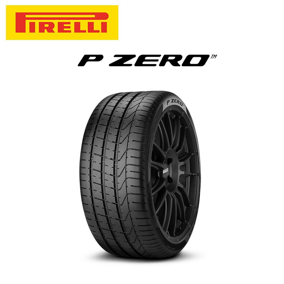 ピレリ PIRELLI P ZERO ピーゼロ 21インチ サマー タイヤ 4本 セット 265/40ZR21 105Y XL B:ベントレー承認タイヤ 2540200