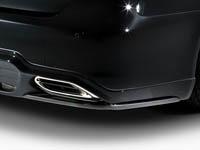 アドミレイション レクサス LS600h/version S・U・UZ UVF45 UVF46 後期 リヤカーボン リヤスポイラーオプションパーツ 塗装済 ADMIRATION リチェルカートヴェルデ RICERCATO WURDE