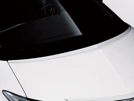 アドミレイション エスティマ GSR ACR50 55 中期 G/X・アエラス フードスポイラー 塗装済 ADMIRATION デポルテ DEPORTE