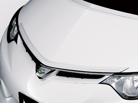 アドミレイション エスティマ GSR ACR50 55 前期 G/X・アエラス-S フードトップモール 塗装済 ADMIRATION デポルテ DEPORTE