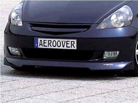 K-FACTORY AEROOVER フィット GD1,2,3,4 前期 フロントバンパー FRP製 未塗装 エアロオーバー ケーファクトリー 配送先条件有り