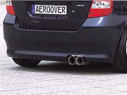 K-FACTORY ケーファクトリー AEROOVER エアロオーバー リアバンパー 未塗装 フィット GD1,2,3,4 前期