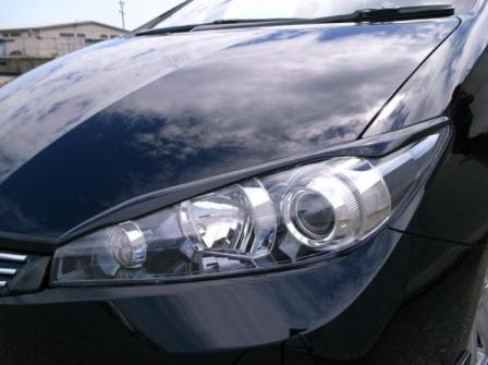 AMS/LUXEYES ラグゼアイ アイラインガーニッシュ 未塗装 ウィッシュ E20/25W