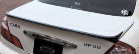 ブローデザイン モードパルファム インフィニティ F50 後期 カーボントランクスポイラー BLOWDESIGN MODE PARFUME PHANTOM GA-MU