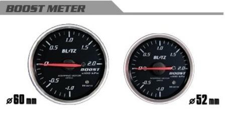 BLITZ ブリッツ φ52 BOOSTメーター 汎用 コードNO 19571
