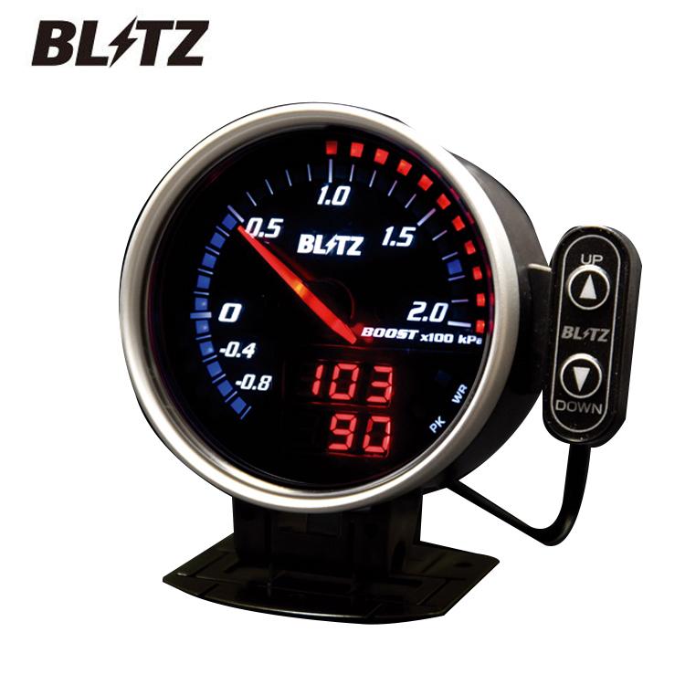 送料無料 BLITZ ブリッツ FLDメーター For ハイブリッド タコメーター 品番 15203 ハリアー MHU38W ブリッツ正規代理店