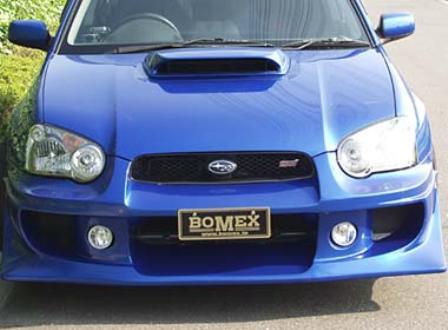BOMEX ボメックス BOMEX COLLECTION ボメックスコレクション フロントバンパースポイラー GDB-FB-01 未塗装品/ゲルコート インプレッサ GDB