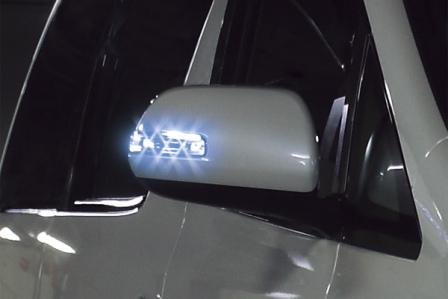 BRASSEN ブラッセン LEDウィンカーミラーレンズキットT2 ヴェルファイア ANH20W/ANH25W/GGH20W/GGH25W