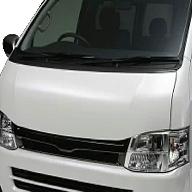 ボクシースタイル ハイエース 200系 1型 2型 3型 4型 標準(ナロー) ユーロカーボンボンネット boxystyle