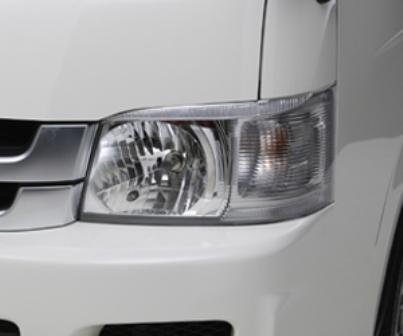 ボクシースタイル ハイエース 200系 1型 2型 標準/ワイド共通 クリスタルアイ boxystyle