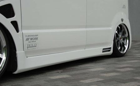 Butterfly System バタフライシステム ワゴンR RR MH21/22 サイドステップ 10周年アニバーサリーモデル 10th ANNIVERSARY MODEL