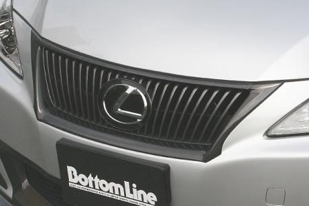 チャージスピード ボトムライン CHARGESPEED 中期 カーボン IS フロントグリルカウル BottomLine GSE20/21/25 レクサス