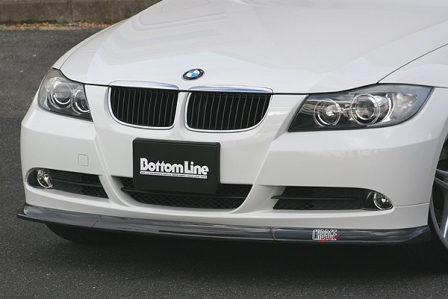 チャージスピード BMW E90 前期 3シリーズ フロントボトムライン カーボン CHARGESPEED BottomLine ボトムライン