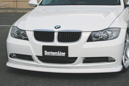 チャージスピード BMW E90 前期 3シリーズ フロントボトムライン FRP CHARGESPEED BottomLine ボトムライン