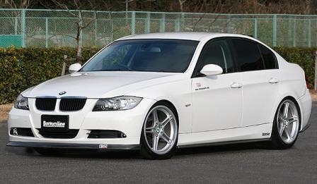 チャージスピード BMW E90 前期 3シリーズ 3点セット カーボン CHARGESPEED BottomLine ボトムライン