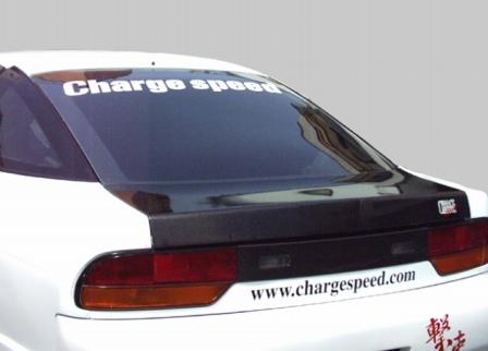 チャージスピード 180SX RPS/RS13 リアゲート カーボン CHARGESPEED 撃速CHARGE SPEED 撃速チャージスピード