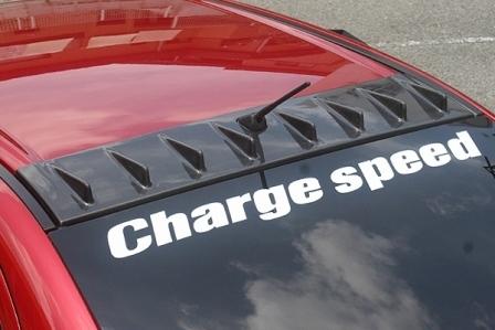 チャージスピード ランエボ ランサー CZ4A エボリューションX ルーフフィン サンルーフ無車用 CHARGESPEED 撃速CHARGE SPEED 撃速チャージスピード