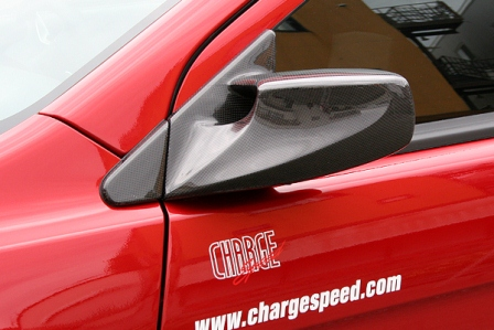 チャージスピード ランエボ ランサー CZ4A エボリューションX エアロミラー カーボン CHARGESPEED 撃速CHARGE SPEED 撃速チャージスピード